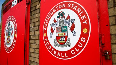 'Accrington have 19 positive virus tests'