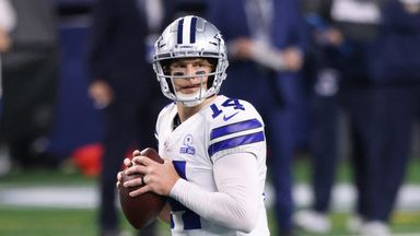 Dalton throws two interceptions in Cowboys loss