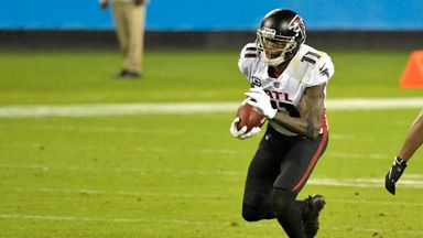 Jones impresses as Falcons down Panthers