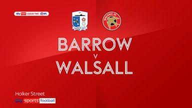 Barrow 2-2 Walsall