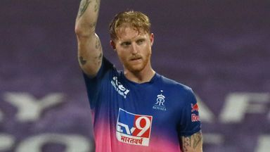 Stokes stars as Royals stun Mumbai
