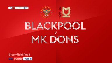 Blackpool 1-0 MK Dons