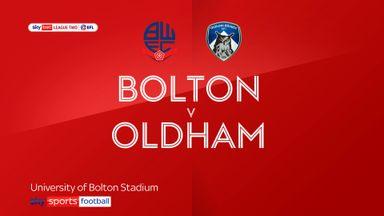 Bolton 1-2 Oldham