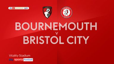 Bournemouth 1-0 Bristol City