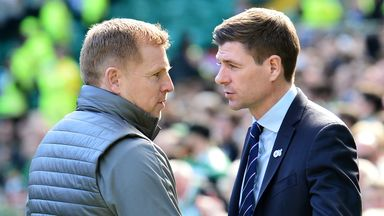 Gerrard: Heat always on Old Firm bosses