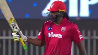 Gayle returns with six barrage