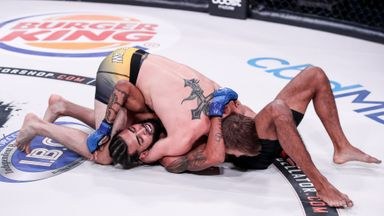 Law wins on debut with D'Arce submission