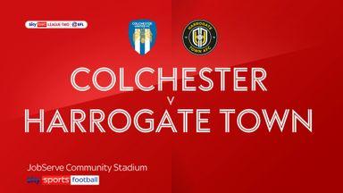 Colchester 2-1 Harrogate