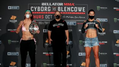 Cyborg, Blencowe face-off