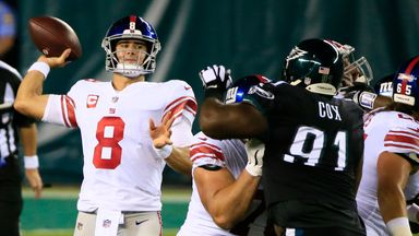 Giants 21-22 Eagles