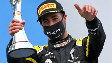 Ricciardo leaving Renault 'feeling fulfilled'