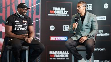 Haye: Usyk not ready for a war