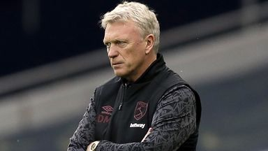 Moyes targets top eight for West Ham