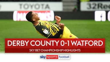 Derby 0-1 Watford
