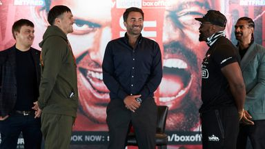 Usyk and Chisora go head to head!