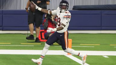 Eddie Jackson's fumble recovery and return