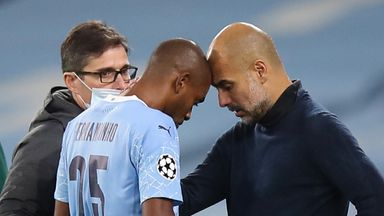 Pep: Fernandinho out for 4-6 weeks