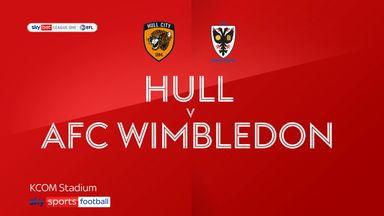 Hull 1-0 AFC Wimbledon