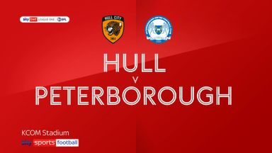 Hull 1-2 Peterborough