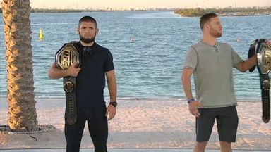 Gaethje ditches title during Khabib face-off
