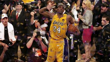 NBA Retro: Best Lakers championship celebrations