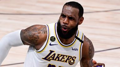 LeBron leads Lakers to title with Game 6 triple-double