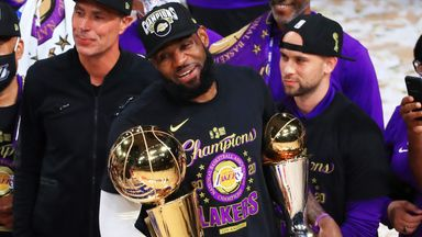 LeBron named Finals MVP for fourth time