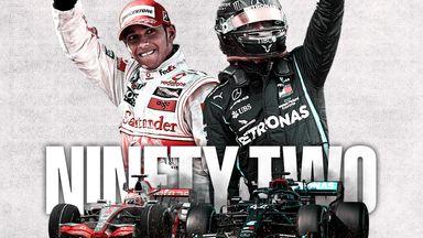 How Hamilton made F1 history