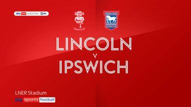 Lincoln 1-0 Ipswich