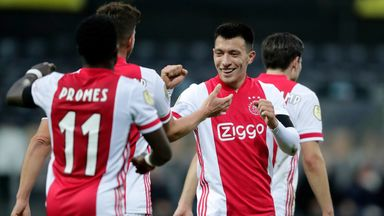 Ajax set Eredivisie record in 13-0 win