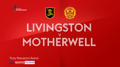 Livingston 0-2 Motherwell