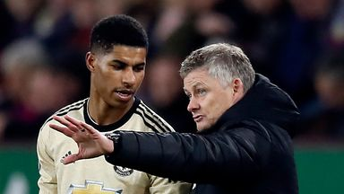 Ole: Rashford always gives 100 per cent
