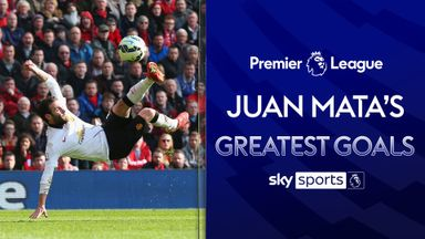 Juan Mata's Greatest PL Goals