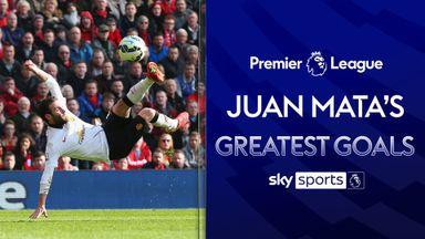 Juan Mata's Greatest PL Goals