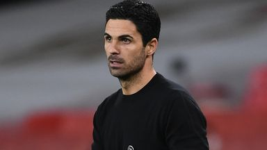 Arteta 'concerned' by lack of goals