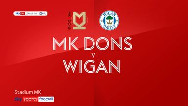 MK Dons 2-0 Wigan