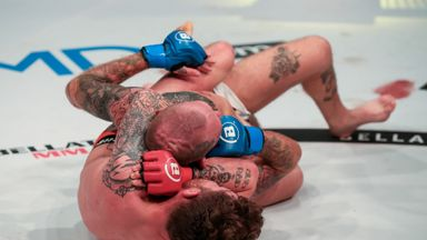 Gallagher secures submission win