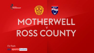 Motherwell 4-0 Ross County