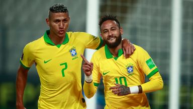 Neymar: I wanted to honour Ronaldo