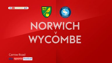 Norwich 2-1 Wycombe