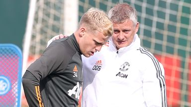 Ole: Van de Beek will play big role at Utd