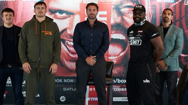 Chisora: We're going to bring violence