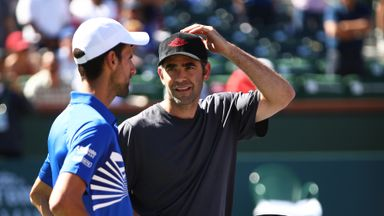 Djokovic aiming for Sampras record