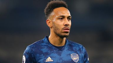 Merse frustrated by Aubameyang