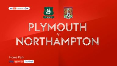Plymouth 2-1 Northampton