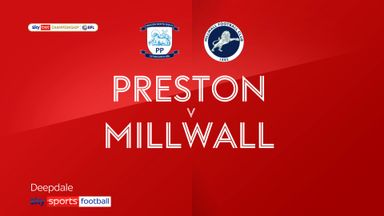 Preston 0-2 Millwall