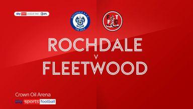 Rochdale 2-1 Fleetwood