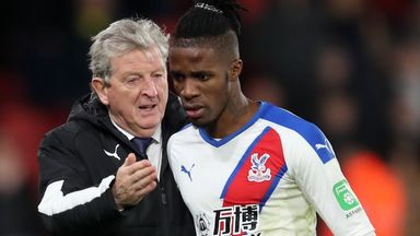 Zaha self-isolating after positive COVID test