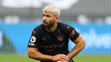 Aguero out for at least two weeks