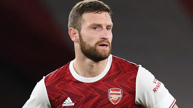 Arteta 'really happy' with Mustafi progress